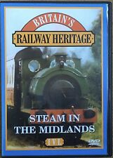 Railway Heritage - Steam In The Midlands DVD Chasewater  Bridgnorth Cheddleton