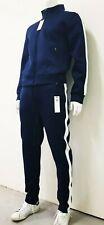 Men's premium tracksuit jogging zip up jacket and pants set