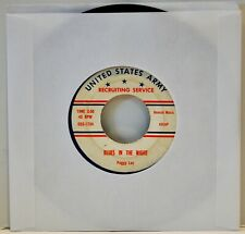 """GUY MITCHELL """"Singing The Blues  PEGGY LEE """"Blues In The Night""""  45 RPM"""