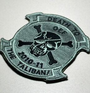 America's Guerre Sur Terreur Original Approuvé Vêlkrö Patch : 2010-11 Death Pour