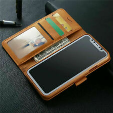 For iPhone 12 11 6S 7 8 Plus XR XS Max Leather Magnetic Flip Wallet Case Cover