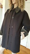 HILARY RADLEY WOOL CAR COAT WITH REMOVABLE LINING