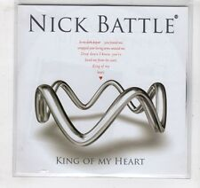 (GV562) Nick Battle, King Of My Heart - 2009 CD