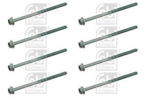 8x Cylinder Head Bolts Set for VW POLO 1.2 02-07 AWY 9N Petrol Febi
