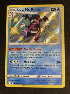 Galarian Mr. Rime - SV021/SV122 - Shiny Holo Rare Pokemon Shining Fates NM