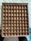 antique PRINTERS TYPE CASE DRAWER Small Typecase Letterpress OLD!