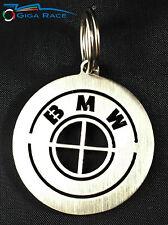 BMW STEMMA LOGO PORTACHIAVI AUTO PORTA CHIAVE CHIAVI ANELLO CIONDOLO ACCIAIO