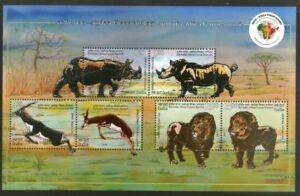 INDIA 2015 3rd Africa Forum Summit Animals Fauna Innovative unique foil embossed