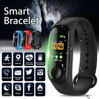 Smart Watch Bracelet Blood Pressure Heart Rate Monitor Wristband For Android iOS