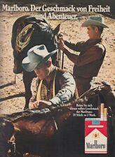 Marlboro Zigaretten - Reklame Werbeanzeige Original-Werbung 1971 (1)