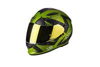 casque casco helmet SCORPION EXO 510 AIR MARCUS GREEN  taille M 57 58