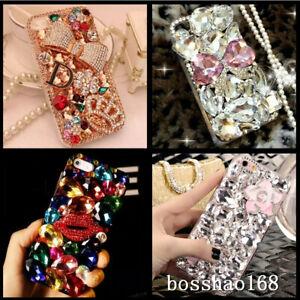 Women Nice Bling Luxury Rhinestones Soft back Phone Cases Cover For LG Stylo 6