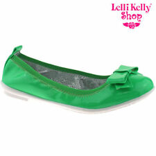 Chaussures décontractées vert pour fille de 2 à 16 ans