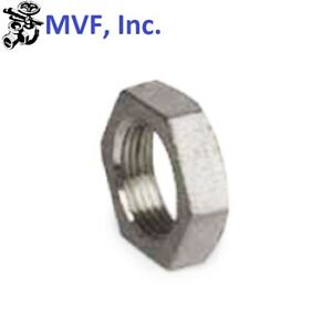 """3/4"""" NPT Lock Nut Cast 304 Stainless Steel With O-Ring Groove BREWING LN104"""