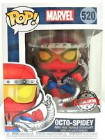 Funko Pop Octo Spidey # 520 Marvel Spider-Man Special Edition Vinyl Figure New