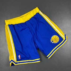 100% Authentic Mitchell & Ness 95 96 Warriors Shorts Size 48 XL Mens - sprewell