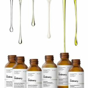 The Ordinary Skin Care Vitamin C Hyaluronic Acid Niacinamide Caffeine Squalane