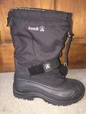Mens Kamik Sz 10 Boots Removable Liner Snow Winter