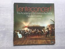 The Academy Of St Martin In The Fields-Lenteconcert vinyl album