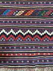 Brand New Handmade Turkish Kilim Flat-Weave Tribal Area Rug, Fine Quality, 5x8