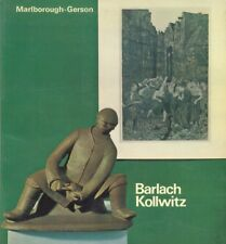 Ernst Barlach Käthe Kollwitz: September-October 1968.