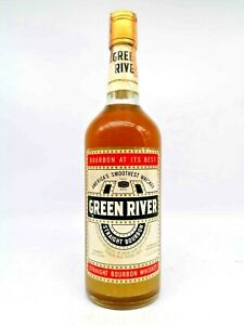 Whisky Bourbon Straight Green River 1970s  75cl. 43%