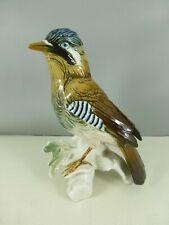 KARL ENS porcelaine de SAXE oiseau bird lot n°15