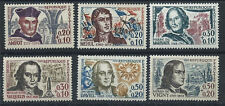 France N°1370/75** (MNH) 1963 - Célébrités
