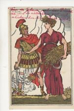 Switzerland 1916 Bundesfeier Postcard 258b