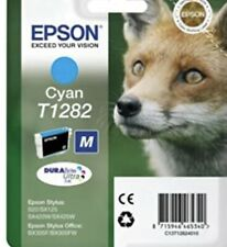 Genuine Unused Original Epson T1282 Cyan ink Cartridge