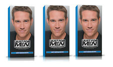 Just FOR MEN UOMO SHAMPOO in permanente Colore dei Capelli Dye Luce Marrone Medio H30
