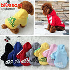 PC11 Warm Winter Casual Adidog Pet Dog Clothes Warm Hoodie Coat Jacket Clothing