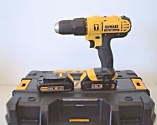 DeWalt DCD776S2T 18v XR Combi Drill with 2 Batteries & Charger in T-Stak Case