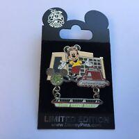 WDW - Contemporary Resort - 35th Anniversary - Mickey - Dangle Disney Pin 49640