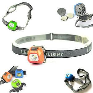 Stirnlampe LED Kopflampe hell super Scheinwerfer Taschenlampe Joggen Wasserdicht