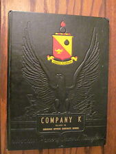 Aberdeen Proving Ground WWII  OCS Yearbook Company K Ordnance 1943