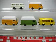 AF109-0,5# 5x Herpa H0 Volkswagen VW LT Bus/Transporter, TOP