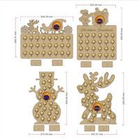 2X(Weihnachtskalender Holz Adventskalender für Schokoladenorange Weihnachts 6W1)