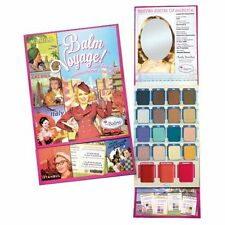 The Balm Voyage Holiday Face Palette New Contour Eye Shadow Makeup 16 Shadows