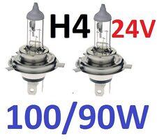 1pr H4 24V Globes Bulbs 100W Hi / 90W Lo 100/90W 1yr warranty Melbourne seller