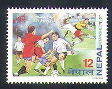 Nepal 1998 Fútbol/Copa del Mundo, Francia/Deportes/Fútbol/Juegos 1v (n37181)