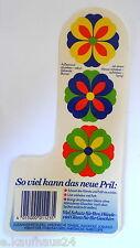 Aufkleber PRILBLUMEN 70er Jahre Pril Blume Sticker Autocollant Decal Flower