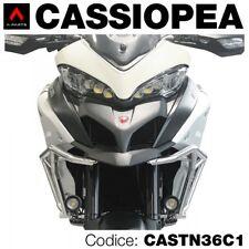 Kit 2 fari led vetro liscio+staffe x Ducati Multistrada 950/1200 enduro 2017
