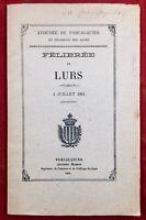 Forcalquier 1882 Lurs Alpes de Haute Provence Langue Provençale Occitan