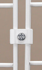 50 Panel Connector New White Wire Grid Panel Connector with 3 Piece design