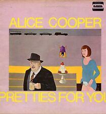 """ALICE COOPER """"PRETTIES FOR YOU"""" ORIG UK 1969 VG/EX"""