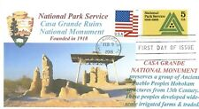 CASA GRANDE RUINS National Monument Arizona National Parks First Day of Issue PM
