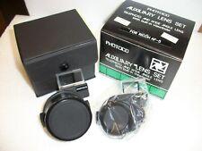 Photco Auxiliary Lens Kit for Ricoh AF-5  WA & Tele lenses