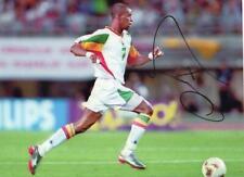 Henri Camara (Senegal) signed picture