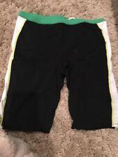 NWT Mens NIKE Team Color Block (Speedo type) Black Green Racing Swim Jammers 36